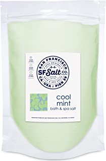 Cool Mint Bath Salts - 10 lb. Bag by San Francisco Salt Company