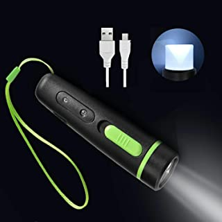 Flashlight DIWANGS Tactical LED Mini Rechargeable High Lumens Portable Torch Light Handheld Pocket-Sized Torch Flashlight with 3 Lights Modes for Indoor &Outdoor Uses