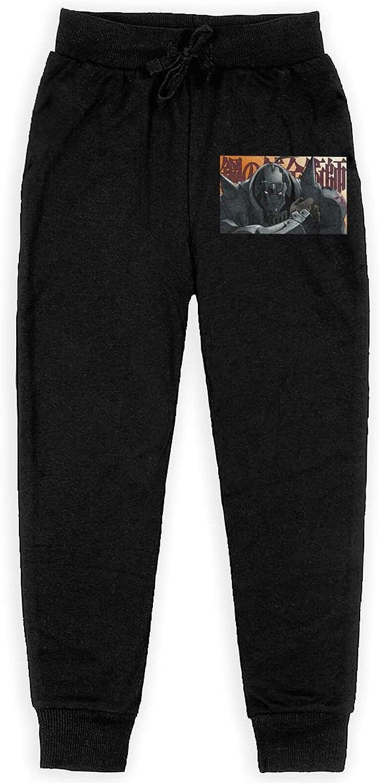 Fullmetal Alchemist Sweatpants Kids Sport Everyday Pant Athletic Cool Pants for Boy Girl