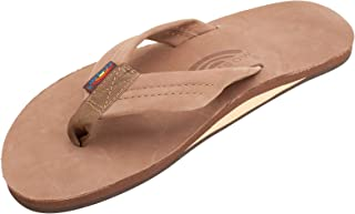 Rainbow Sandals Men's Premier Leather Single Layer Wide...