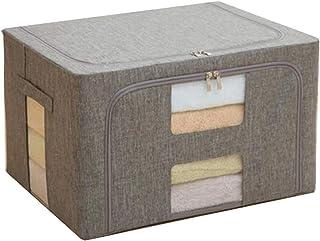 Lpiotyucwh Paniers et Boîtes De Rangement, Boîte de rangement pliable de grande capacité de grande capacité Vêtements Boît...
