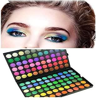 Si-Miracle Beauty Rainbow 120 Colors Professional Cosmetic Shimmer Smoky Natural Earth Tone Eyeshadow Palette Eye Shadow Makeup Powder Kit Eye Color Waterproof & Long-Lasting