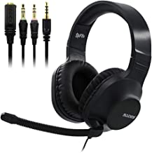 SADES SPIRIT SA721 Black Stereo Gaming Headset for Xbox One,PS4,PC,Noise Cancelling Over Ear Headphones with Mic,Soft Ear Cushion,3.5mm Jack Cable for Laptop Tablet Smartphone Nintendo