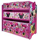 URBNLIVING Disney Minnie Mouse Caja de Juguetes para Dormitorio de niños,...