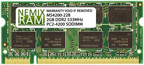 2GB DDR2 533MHz PC2-4200 200-pin SODIMM Laptop Memory RAM