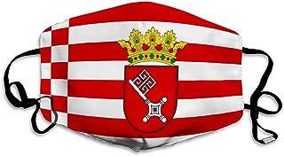 Unisex Anti-Pollution Shield Dust Shield Shield Flagge der freien hanseatischen Stadt Bremen in Deutschland Ski Cover