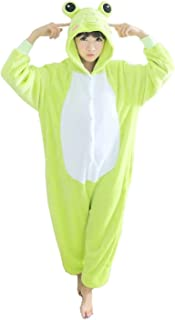 Halloween Costumes Sleepsuit Costume Cosplay Kigurumi Onesie Pajamas Frog