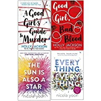 A Good Girl's Guide to Murder, Good Girl Bad Blood, The Sun is also a Star, Everything, Everything 4 Books Collection Set By Holly Jackson & Nicola Yoon 9124114774 Book Cover