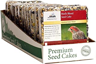 Heath Outdoor Products SC-21 7-Ounce Birds Blend Seed Cake, 7 oz (Pack of 12)