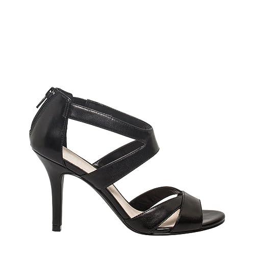 22e1894314ed Women s Leather Strappy Sandals  Amazon.com