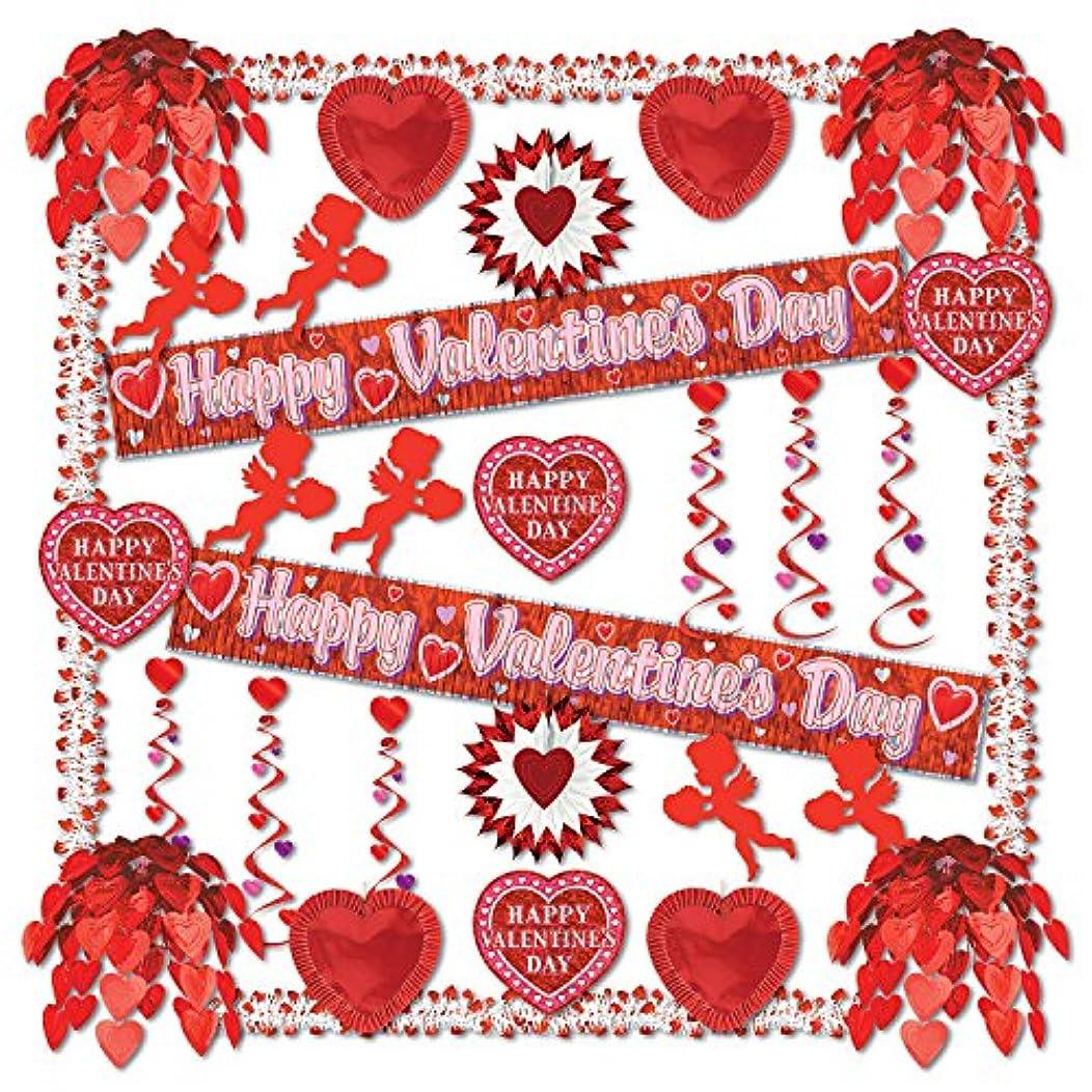 Beistle 77169 32-Piece Valentine Reflections Decorating Kit