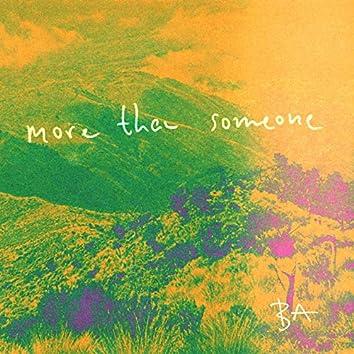 More Than Someone