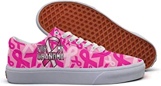 lsawdas Breast Cancer Awareness Running Shoes Men Training Shoes
