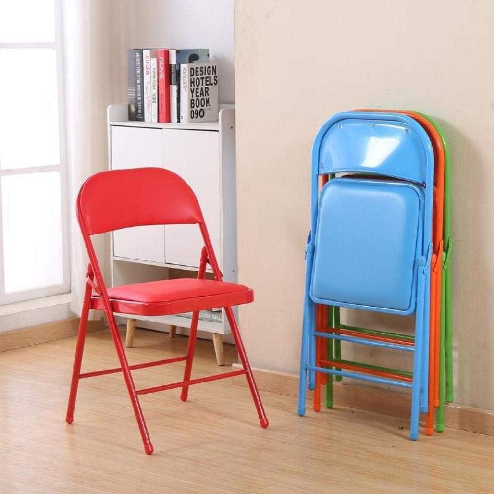 CR-MA Articles ménagers légers et stables Chaises familiales pliables Chaises de bureau confortables Chaises extérieures et intérieures Couleur des Fleurs.
