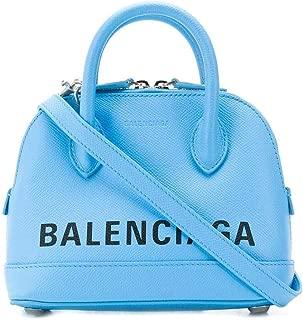 Luxury Fashion   Balenciaga Womens 5506460OTN34860 Light Blue Handbag   Fall Winter 19