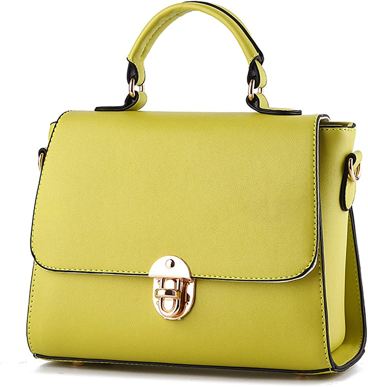 Fleeting Time Women's Lock Small Korean Fashion Shoulder Messenger Bag