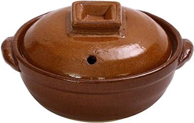マルヨシ陶器(Maruyoshitouki) 土鍋 ブラウン 0.2L M0722