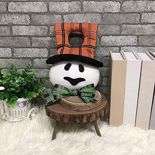 Funny Halloween Party Door Hanging Doll Prop Decoration (Ghost) Outdoor Indoor for Kids Zoe's Shop (Color : Ghost)