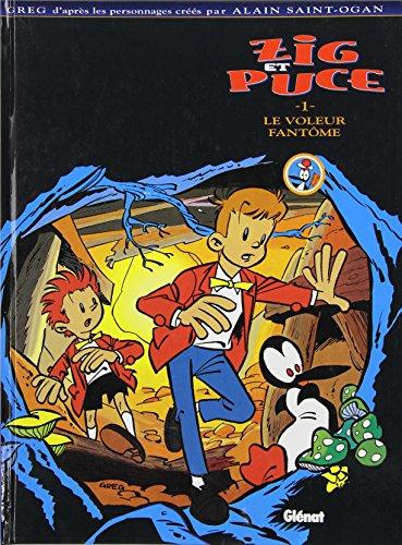 Zig et Puce, tome 1 : Le Voleur de fantôme
