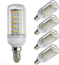 SGJFZD 12 Volt 6 Watt LED Light Bulb,G9 / E12 / E14 / E27 12-80v Low Voltage ,Grid Solar System LED Lights 5-Pack 6w Light...