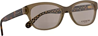 Coach HC 6117 Eyeglasses 51-17-135 Olive w/Demo Clear Lens 5508 HC6117