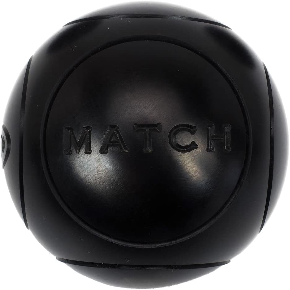73/mm Obut/Match Bolas de petanca semiblandas negro