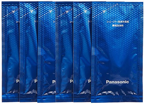 [Bulk buying set] Panasonic LAMDASH shaver cleaning charger dedicated cleaning agents -6 pieces- (japan import) by Panasonic