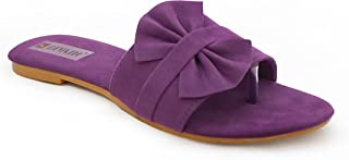 Divain Womens Floater Fashion Slippers (Art No-D 107)
