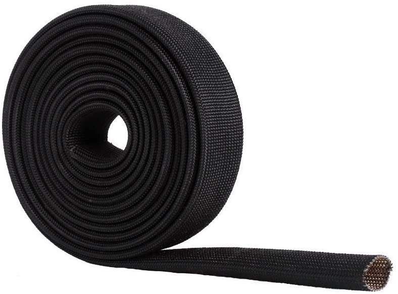 WISAUTO High Temp Same day shipping Inexpensive Black Auto Fiberglass Adjustable H Sleeve Heat