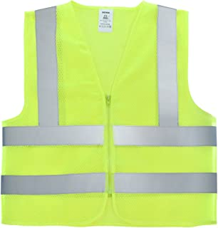 Neiko 53958A Mesh Safety Vest, High Visibility Neon Yellow Color | 2