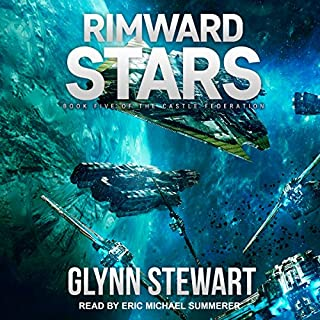 Rimward Stars     Castle Federation Series, Book 5              Written by:                                                                                                                                 Glynn Stewart                               Narrated by:                                                                                                                                 Eric Michael Summerer                      Length: 12 hrs and 5 mins     5 ratings     Overall 5.0