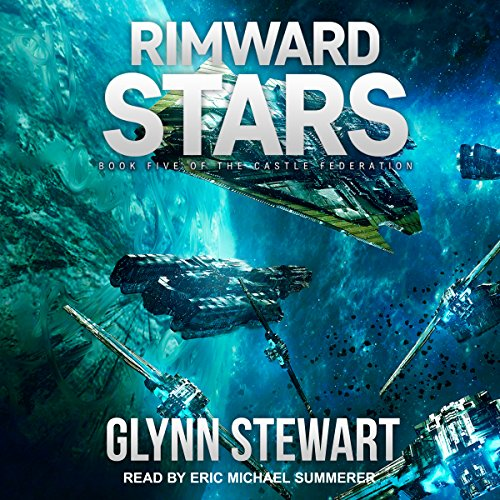 Rimward Stars     Castle Federation Series, Book 5              By:                                                                                                                                 Glynn Stewart                               Narrated by:                                                                                                                                 Eric Michael Summerer                      Length: 12 hrs and 5 mins     10 ratings     Overall 4.8
