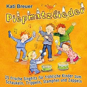 Piepmatzlieder - 25 frische Singhits für fröhliche Kinder zum Schaukeln, Trippeln, Stampfen & Zappeln
