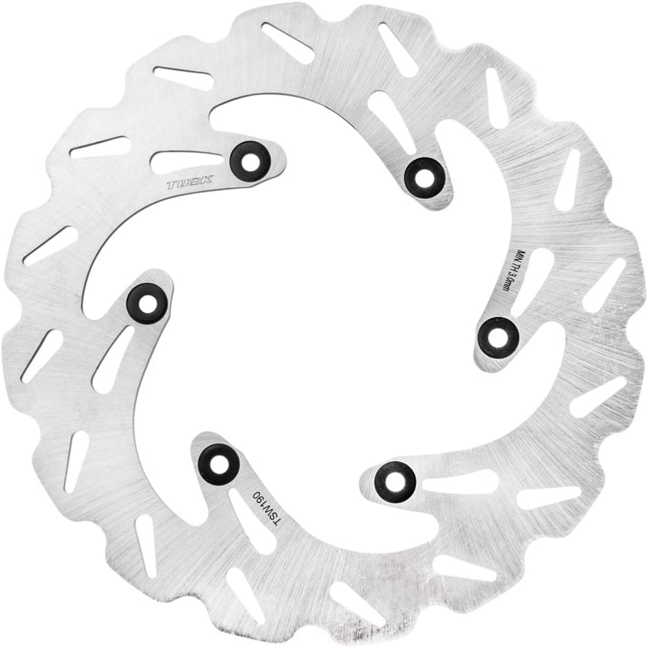 Tusk Stainless Steel Typhoon Brake New mail order Max 44% OFF Rotor YAMAHA Rear - WR Fits: