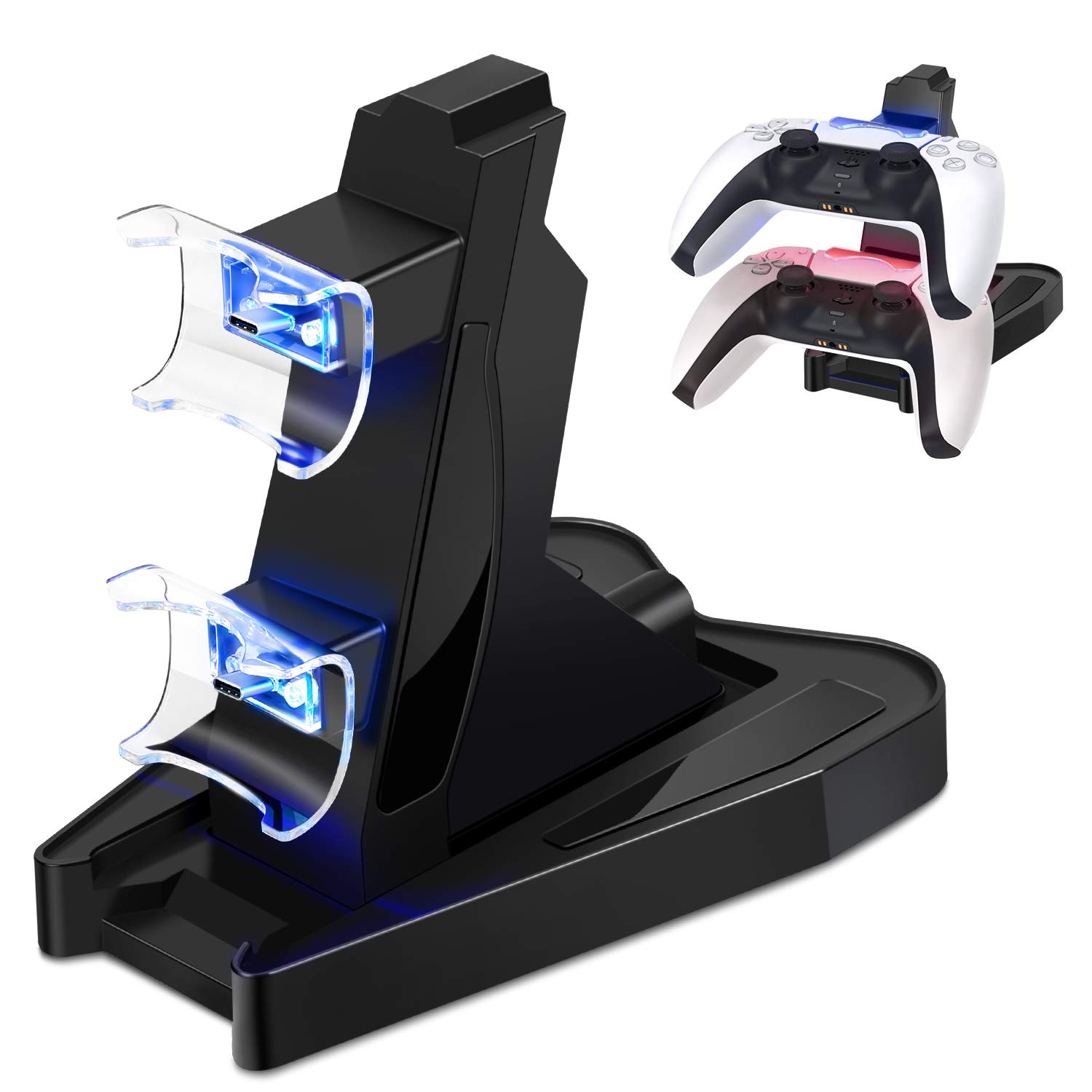 TNP PS5 Beauty products Controller Charger Stand Playstation for 5 National products Controll Sony
