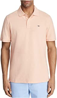 Vineyard Vines Men's Stretch Pique Heather Short Sleeve Polo Shirt