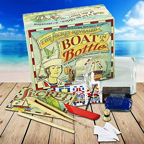 Authentic Models Boat In A Bottle Kit