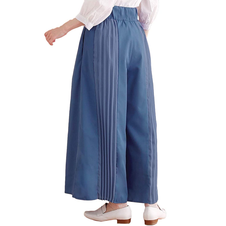 (メルロー) merlot 【plus】バックプリーツ切替デザインパンツ