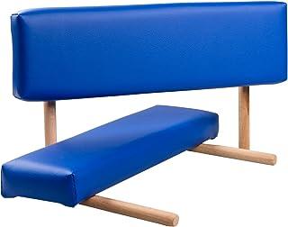 3B Scientific Podłokietniki z drewnianym uchwytem, ciemnoniebieskie