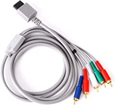 HDE Component HDTV AV Audio Video Cable for Nintendo Wii and Wii U High Definition