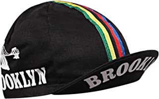 Brooklyn Retro Cycling World Champion Stripes Cap Black