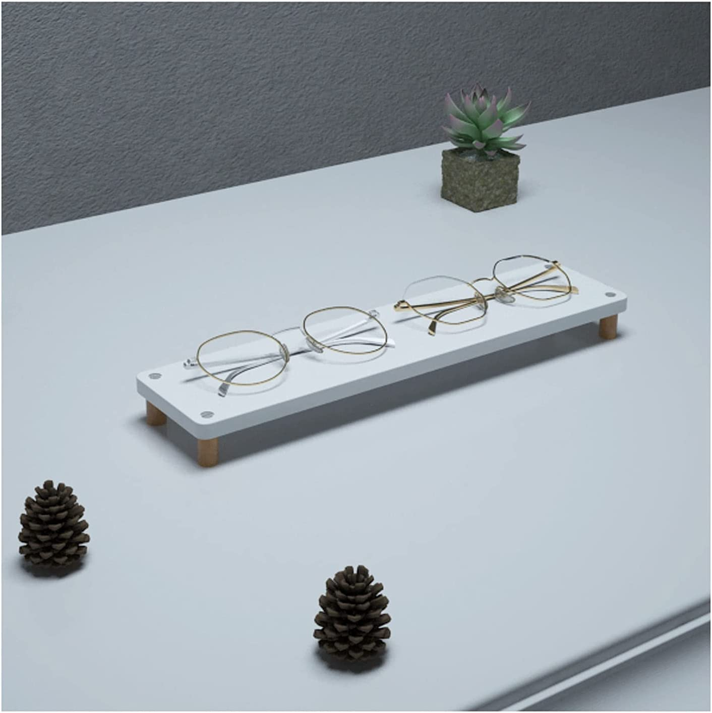 Sunglasses Rack 5 ☆ very popular New life Holder Wooden Stand Glasses O Display
