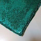 Jade-Paillettenstoff, glitzernd, glänzend, Dekostoff,
