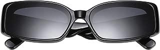 Creative Rectangle Sunglasses Women Fashion Thick Frame UV400 Protection B2462