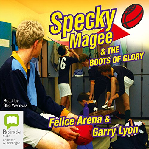 Specky Magee and the Boots of Glory cover art
