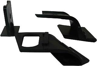 HLY/_Autoparts Tappo Copri Foro Chiave Maniglia Porta 2 Pezzi 8200036411 Colore Nero per Renault Megane Scenic Clio Laguna Twingo Modus Espace Vel Satis