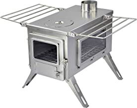 Winnerwell Nomad View Large Tent Stove   Portable Wood Burning Stove for Tents, Shelters,..