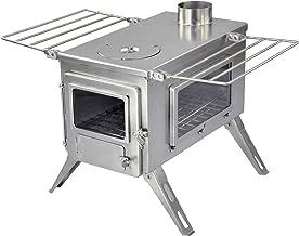 portable wood burning tent stove