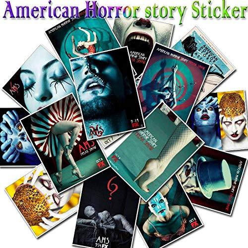 Terror Serie Stickers Film American Horror geschiedenis voor laptop skateboard koelkast gitaar & bas accessoires graffitisticker