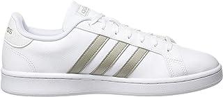 adidas F36485 Donna Grand Court Ftwr White/Platinum Met./Ftwr White